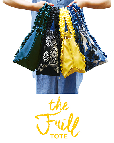 the Frill TOTE(フリルトートバッグ)