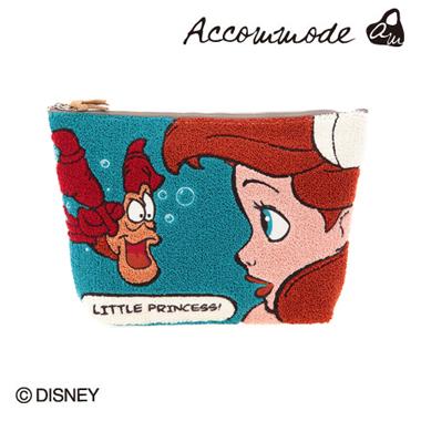 【Accommode】ビッグポーチ ディズニー リトルマーメイド