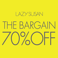 THE BARGAIN 70%OFF